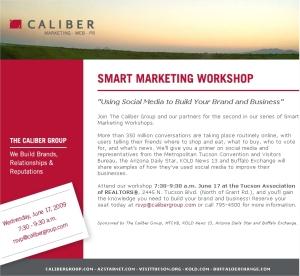 caliber social media workshop e-blast