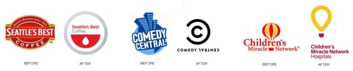 Rebranded Logos