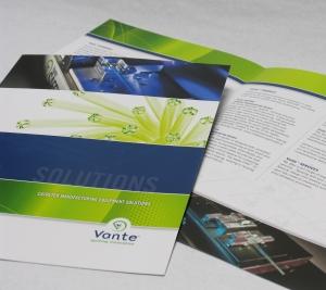 Vante brochures